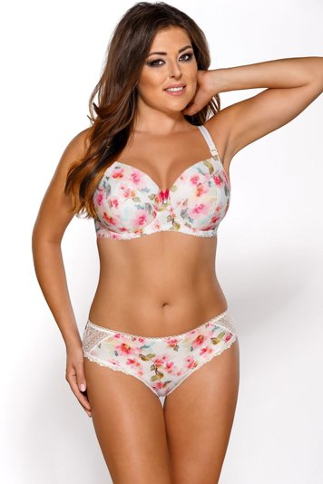 Ava 1636 underwired nursing bra floral