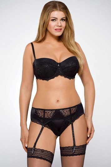 Ava 605 Lala elegant subtle briefs with delicate lace