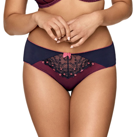 Ava women's lace floral briefs 1754/B Pink River