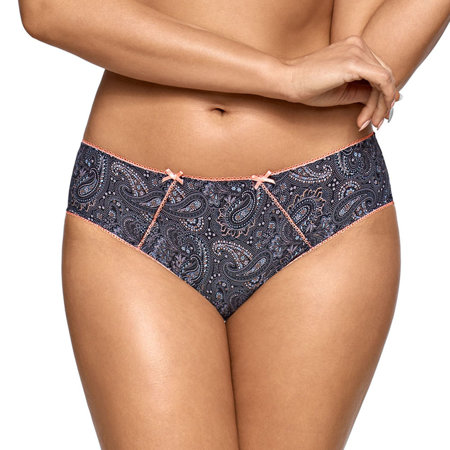Ava women's paisley patterned briefs 1804/B Orient Extreme