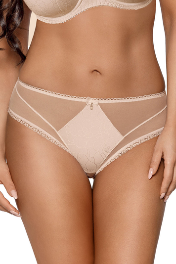 Ava women's smooth lace brazilian briefs 1710/B Snowflake