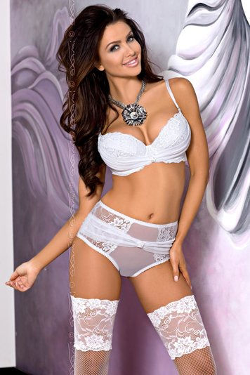 Axami V-5561 Cristal unusual sophisticated elegant push-up bra