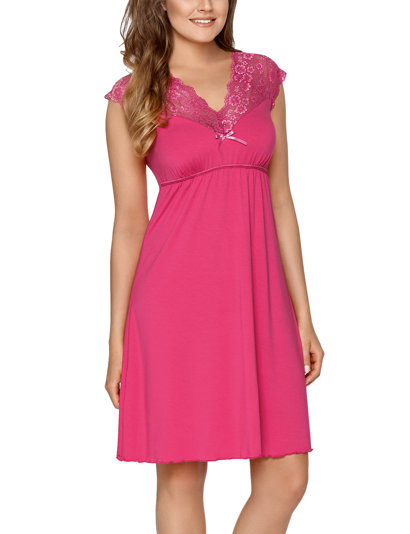 Babella women's smooth lave short sleeved nightdress Lilianna