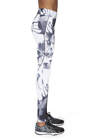 Bas Bleu Calypso women's patterned leggings long