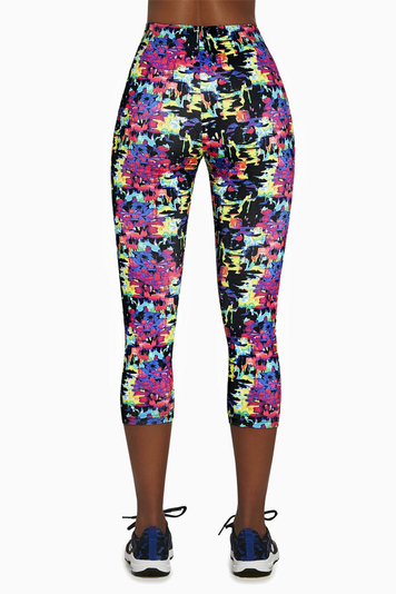 Bas Bleu women's patterned leggings Revel 70