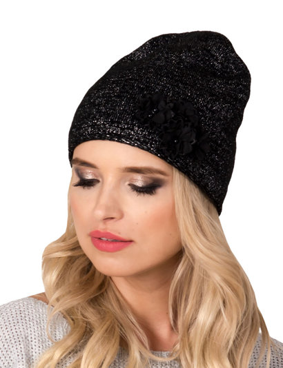 Fil'loo women's hat with shiny thread CD-17-02A