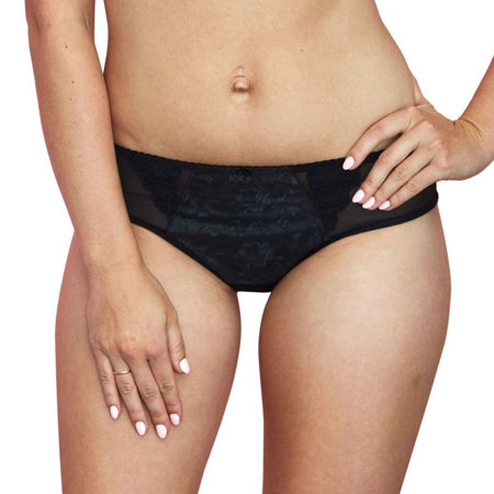 Gaia women's smooth embroidered briefs  786P Florence