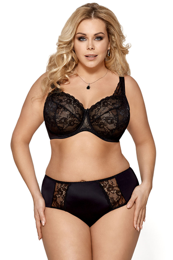 Gorsenia underwired lace non paded bra K447 Caren