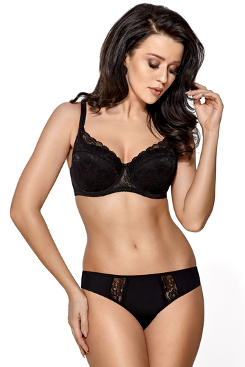 Gorsenia underwired lace padded bra K448 Caren
