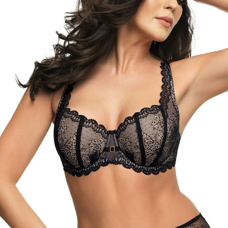 Gorsenia underwired lace padded bra K532 Prudence