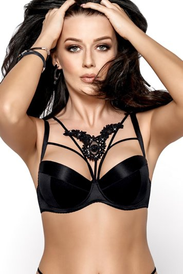 Gorsenia underwired push-up bra cage K407