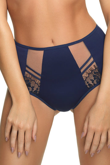 Gorsenia women's high waist lace briefs K498 Paradise
