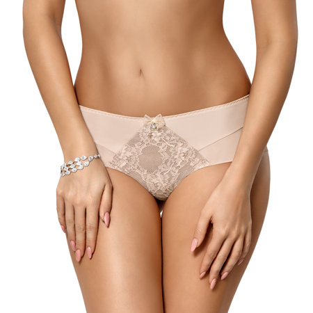 Gorsenia women's lace smooth briefs K424 Nellie
