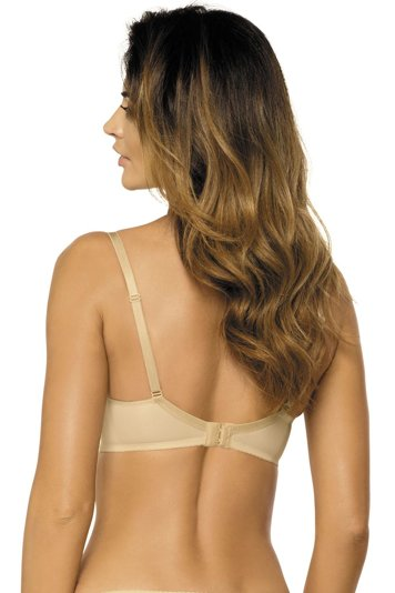 Gorteks Carla B5 underwired padded push-up inserts not removable straps