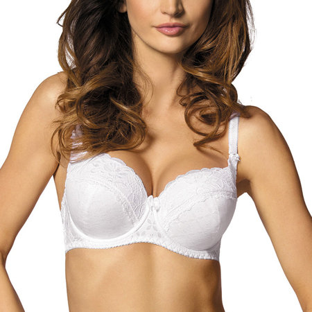 Gorteks G-246/B4 underwired padded bra smooth emrboidery pattern