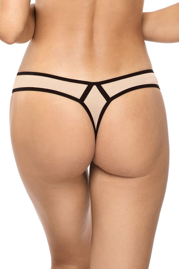 Gorteks women's floral thong Dallas/S