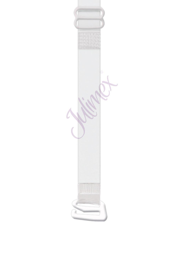 Julimex RT 04 adjustable clear silicone 10 mm. bra straps