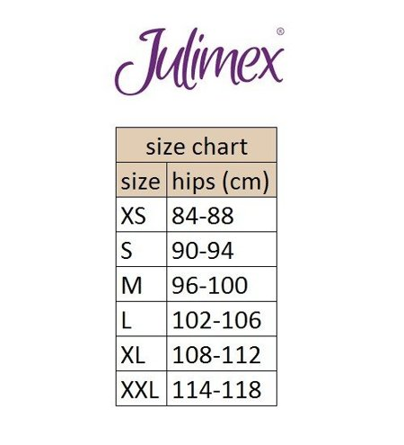 Julimex Shapewear 341 Lace high waisted briefs seamless lace smooth slimming