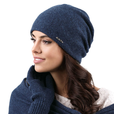 Kamea warm winter beanie smooth women's hat Frascati