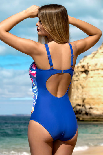 Lorin floral padded smooth one piece swimsuit L4162/8
