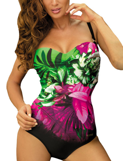 Marko Caitlyn M-370 elegant quick-drying fade-resistant one-piece swimsuit