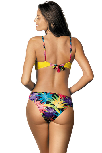 Marko Roxana M-402 women's bikini set underwired push-up flower pattern