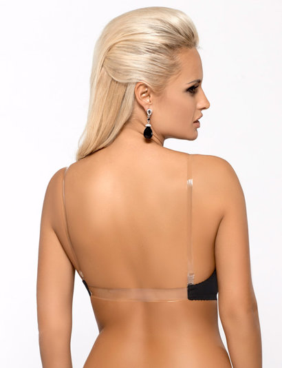 Mat M-537/1 stylish silicone back bra removable pads and adjustable straps