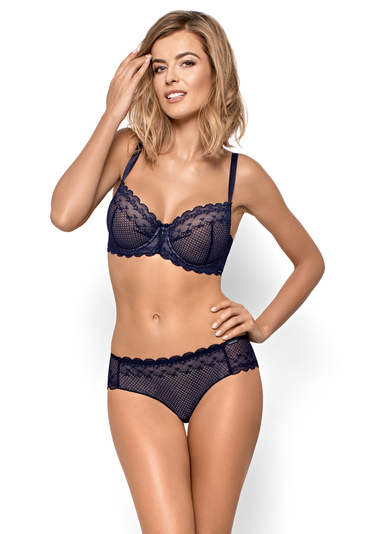 Nipplex women's lace dotted briefs Kora