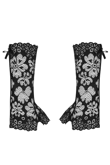 Obsessive lace sexy women's mittens gloves 856-ACC-1