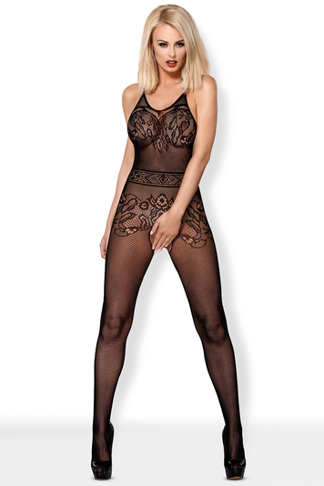Obsessive mesh sexy woman Bodystocking F223