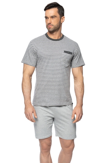 Rossli men's striped pyjama set SAM-PY-154