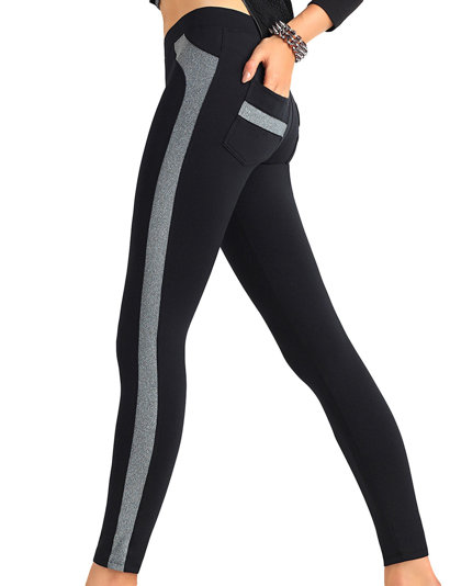 Trendy Legs Plush Emma women's leggings smooth regular long casual
