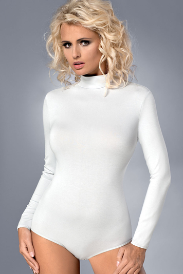 Vestiva BD 023 womens bodysuit leotard body long sleeves