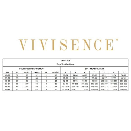 Vivisence 3302 padded tankini top dotted