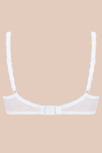 Vivisence Laura 1008 underwired semi padded full cup bra lace adjustable straps