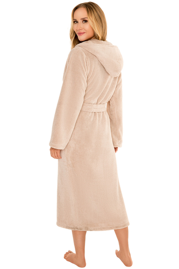 Vivisence smooth long sleeved classic dressing gown  5009