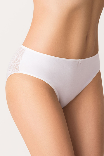 Vivisence women's smooth lace briefs 4004