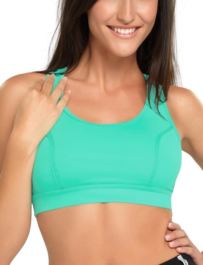gWINNER Hana classic wide shoulder straps breathable soft sport bra