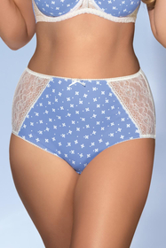 Ava 1418 womens knickers maxi briefs high waisted lingerie