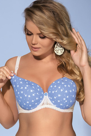 Ava 1418 womens underwired maternity/nursing bra