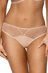 Ava women's mesh pattered briefs 1746 Aurora