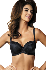 Gorteks Elise/B4 underwired padded bra floral lace