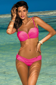 Marko Amanda M-386 women's underwired bikini set push-up pads removable straps