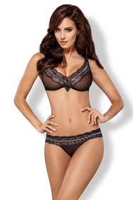 Obsessive sexy sheer lace set 869-SET-1