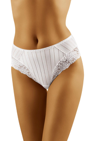 Wolbar women's floral lace briefs high waist WB39