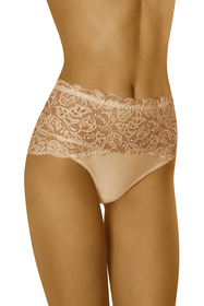 Wolbar women's lace high waist briefs WB414