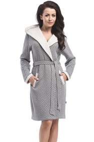 dn-nightwear SGW.8030 classic comfortable dressing gown