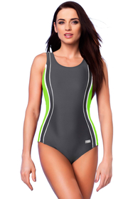 gWINNER Agnes IV women's one piece swimsuit sports removable pads